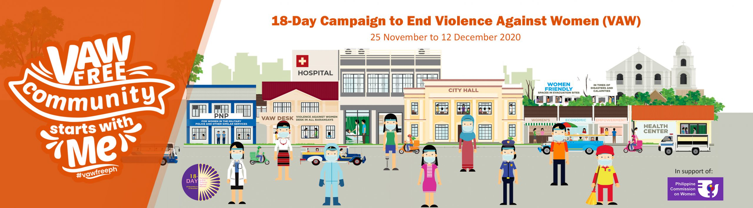 VAW Free Community Starts with Me